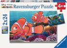 Ravensburger Casse-tête 24x2 Trouver Nemo Aventures de Némo 4005556090440
