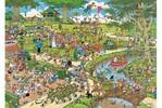Jumbo Casse-tête 1000 Jan van Haasteren - le parc 8710126014929