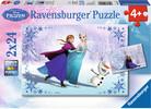 Ravensburger Casse-tête 24x2 La Reine des neiges Soeurs pour toujours (Frozen) 4005556091157