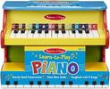 "Melissa & Doug Piano d'apprentissage 11.5x9.75x16"" Melissa & Doug 8960 000772189606"