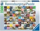 Ravensburger Casse-tête 1500 99 vélos et plus 4005556160075