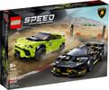 LEGO LEGO 76899 Lamborghini Urus ST-X & Lamborghini Hura 673419319126