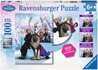 Ravensburger Casse-tête 100 XXL Reine des neiges Trouver les différences (Frozen) 4005556105571