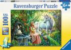 Ravensburger Casse-tête 100 XXL Le royaume de la licorne 4005556105595