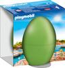 Playmobil Playmobil 9418 Oeuf Gardienne de zoo avec phoque 4008789094186