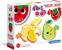 Clementoni Casse-tête progressif 2-3-4-5 les fruits (mon premier casse-tête) 8005125208159