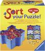 Ravensburger Sort your puzzle, 6 bacs empilables pour morceaux de casse-tête 4005556179343