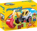 Playmobil Playmobil 70125 1.2.3 Pelleteuse 4008789701251