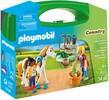 Playmobil Playmobil 9100 Mallette transportable Palefrenières 4008789091000