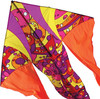 Premier Kites Cerf-volant monocorde Flo-Tail 6.5' orbite chaud (Warm Orbit) 630104332174