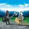 Playmobil Playmobil 6847 Duo Chevalier Noir et chevalier d'Argent 4008789068477