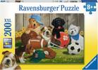 Ravensburger Casse-tête 200 XXL Jouons au ballon, chien 4005556128068