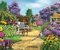 SunsOut Casse-tête 1000 Moment paisible au jardin (Peaceful Moment) SunsOut 61575 796780615755