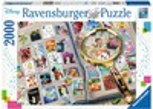 Ravensburger Casse-tête 2000 Disney Mes timbres préférés personnages de Disney 4005556167067
