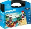 Playmobil Playmobil 9102 Mallette transportable Pirate et soldat 4008789091024