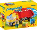 Playmobil Playmobil 70126 1.2.3 Camion benne 4008789701268
