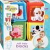 Earlyears Blocs souples animaux pour bébé (cubes) 020373003002