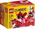 LEGO LEGO 10707 Classique Boîte de construction rouge 673419267397