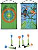 Scratch Scratch jeu de dards/fléchettes à ventouse double-face Toucan 5414561820536