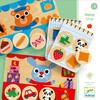 Djeco Memo shop (fr/en) jeux de mémoire et de loto en bois 3070900016422