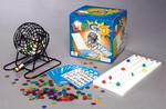"""Popular Playthings Boulier de bingo en métal 8x8"""" avec 18 cartes et 150 jetons (cage/sphère) 755828385142"""