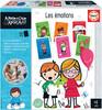 Educa Borras Apprendre c'est amusant - Les émotions 8412668188297