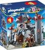 Playmobil Playmobil 6697 Super 4 Château du barron noir transportable (fév 2016) 4008789066978