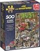 Jumbo Casse-tête 500 Jan van Haasteren - Chaos de la circulation 8710126174654