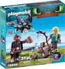 Playmobil Playmobil 70040 Dragons Harold et Astrid avec un bébé dragon 4008789700407