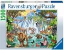 Ravensburger Casse-tête 1500 Cascade dans la jungle 4005556164615