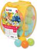 LUDI LUDI - Balles de plastique mixtes (75) avec sac refermable, pour piscine à balles 3550839927988