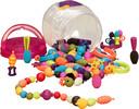 B. Brand Perles à assembler, ensemble de 150 (Creative-Beauty Pop-Arty!) 062243275997