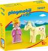 Playmobil Playmobil 70127 1.2.3 Princesse et licorne 4008789701275