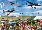 Falcon de luxe Casse-tête 1000 Spectacle aérien familial 8710126111956