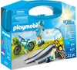 Playmobil Playmobil 9107 Mallette transportable Sports extrêmes 4008789091079