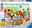 Ravensburger Casse-tête 750 Large Le bain des oiseaux 4005556199372