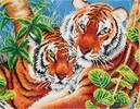 Diamond Dotz Broderie diamant Tigres tendres (Tender Tigers) Diamond Dotz (Diamond Painting, peinture diamant) 4897073240916