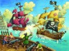 Ravensburger Casse-tête 100 XXL bateau pirate 4005556106660