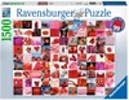 Ravensburger Casse-tête 1500 99 belles choses rouges 4005556162154