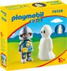 Playmobil Playmobil 70128 1.2.3 Chevalier et fantôme 4008789701282
