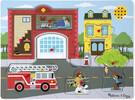 Melissa & Doug Casse-tête sonore caserne de pompier Puzzle Melissa & Doug 736 000772007368