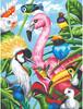 """Dimensions PaintWorks Dessin à numéros oiseaux tropicaux 9x12"""" 91497 088677914974"""
