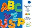 Djeco Lettres magnétiques majuscules, 38 (fr/en) 3070900031005