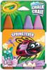 Crayola 4 craies de trottoir lavables Spring Fever 063652365309