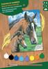 Sequin Peinture à numéro Peinture à numéro junior cheval et poulin 5013634000303
