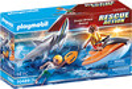 Playmobil Playmobil 70489 Sauvetage d'attaque de requin 4008789704894