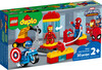 LEGO LEGO 10921 DUPLO Le labo des super-héros, Captain America, Iron Man, Spider-Man 673419318884