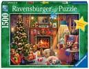 Ravensburger Casse-tête 1500 Le réveillon de Noël 4005556165582