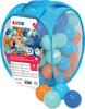 LUDI LUDI - Balles de plastique bleues (75) avec sac refermable, pour piscine à balles 3550839927940