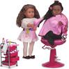 Poupées Our Generation Accessoires salon de coiffeuse pour poupée Our Generation (sans poupée/chaise) 062243252783